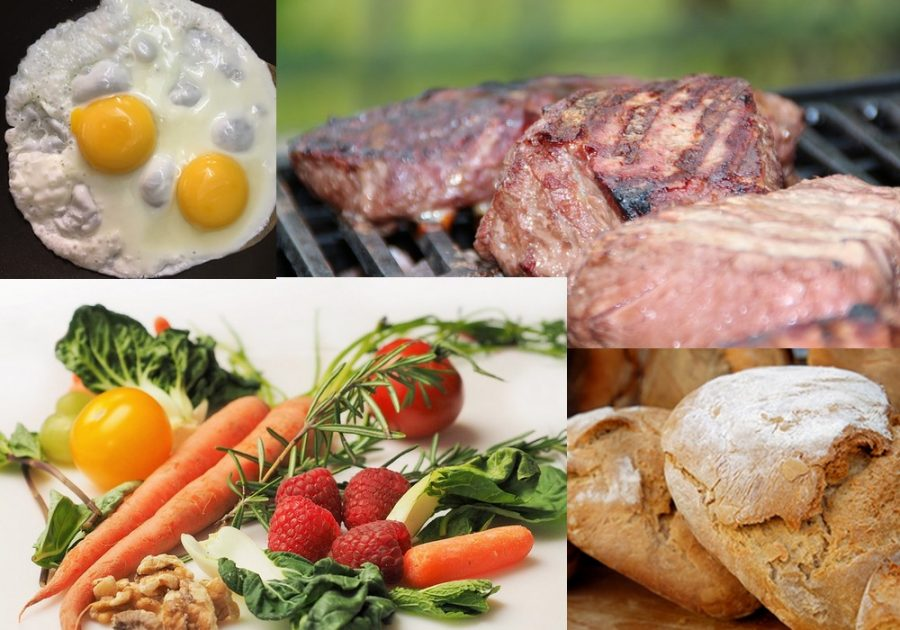 Aliments variés pour être en bonne santé
