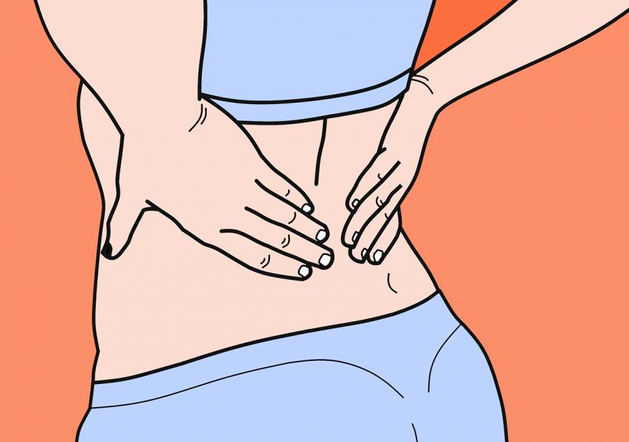 Le mal de dos causé par une mauvais posture